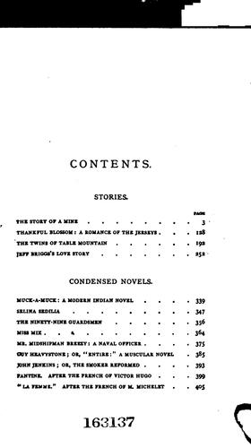 Condensed Novels and Stories