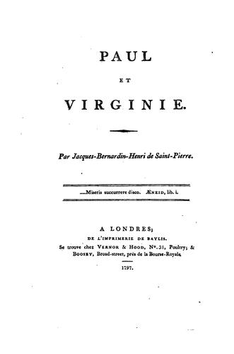 Download Paul et Virginie