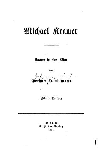 Download Michael Kramer