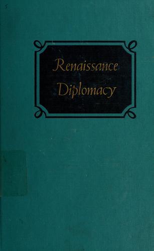 Download Renaissance diplomacy.