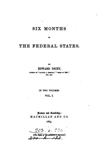 Six months in the federal states