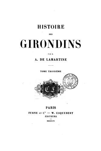 Histoire des Girondins