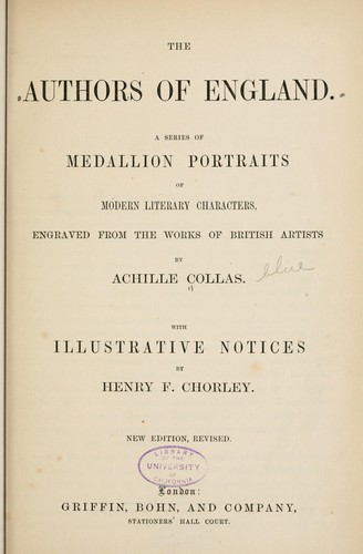 Download The authors of England