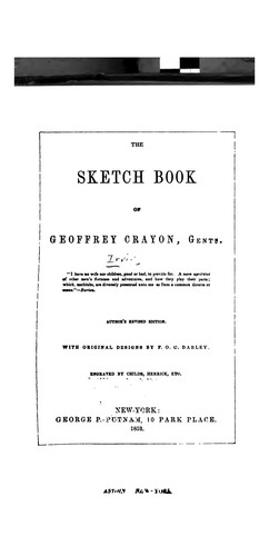 The Sketch Book of Geoffrey Crayon, Gentn