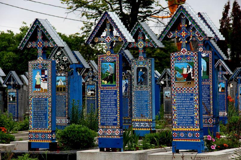 O cemitério feliz
