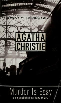 Cover of: Murder is easy | Agatha Christie