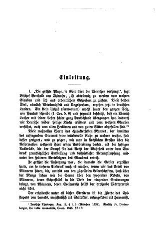 Luther und Luthertum in der ersten Entwickelung