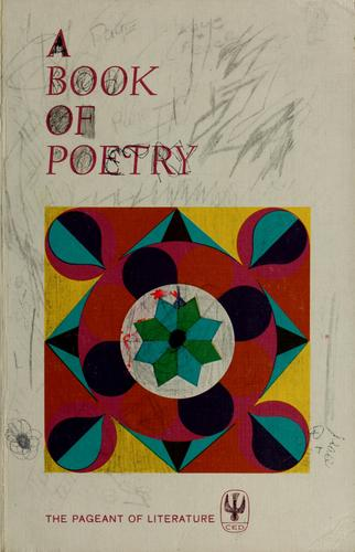 A book of poetry. by Teresa Clare Sister, S.C