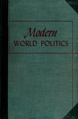 Modern world politics.